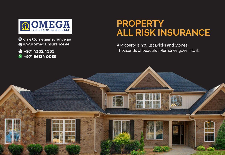 Property all risks insurance Dubai, UAE Insurance