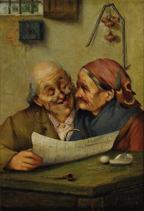 Image result for Baur, J.M. «A Loving Couple».