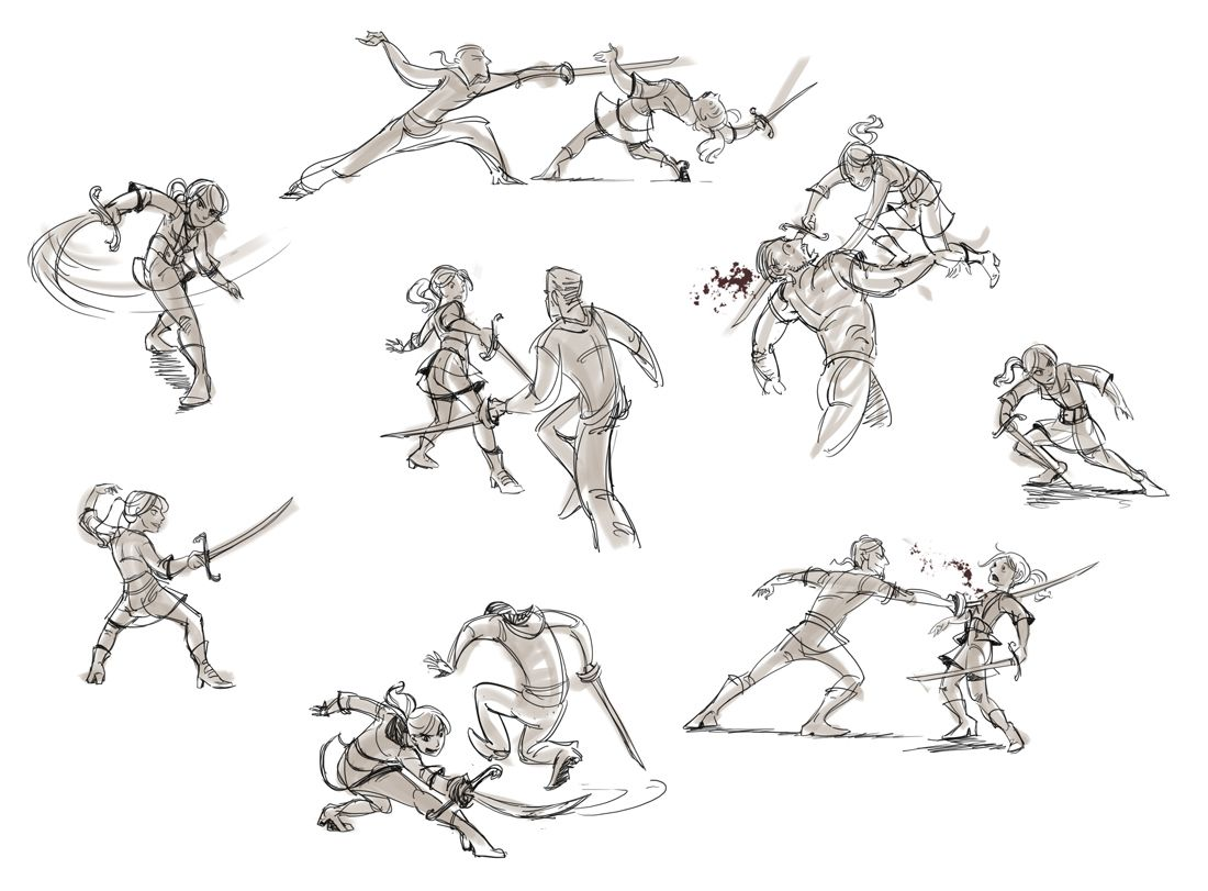 Image result for cool sword fight drawn | Ref | Pinterest ...