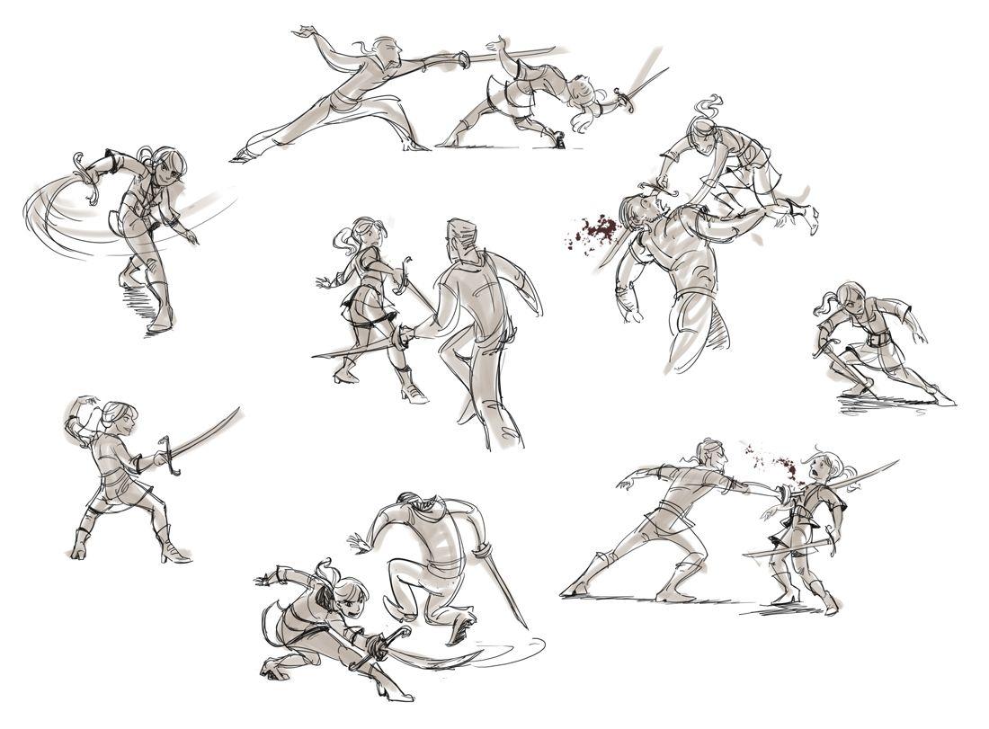 Nilah Magruder Fighting Drawing Drawings Drawing Examples