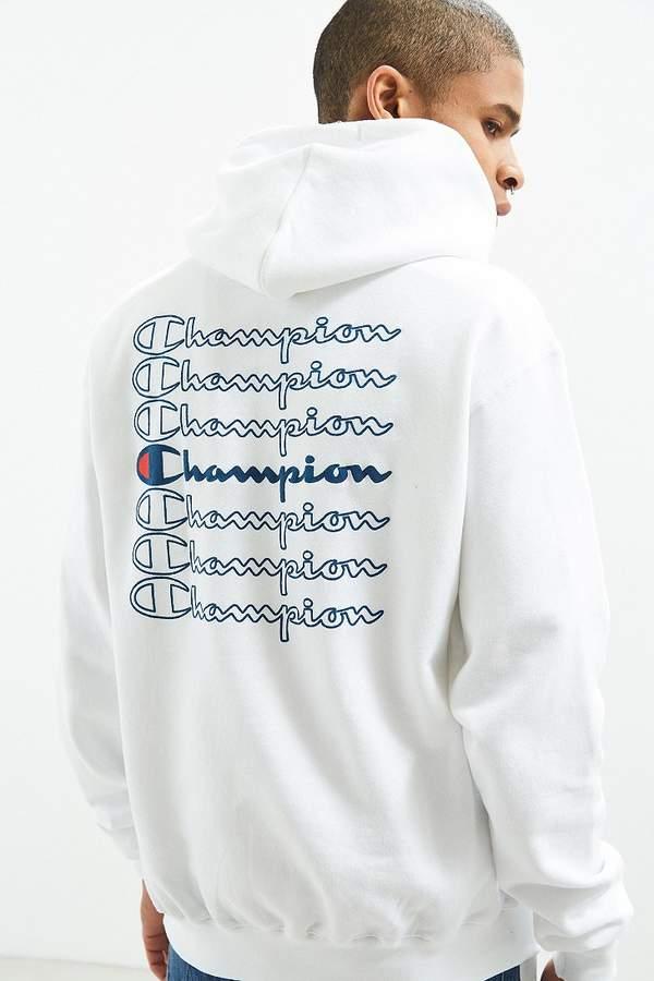a60a2ac8c Champion Stacked Eco Hoodie Sweatshirt | Products | Sweatshirts ...