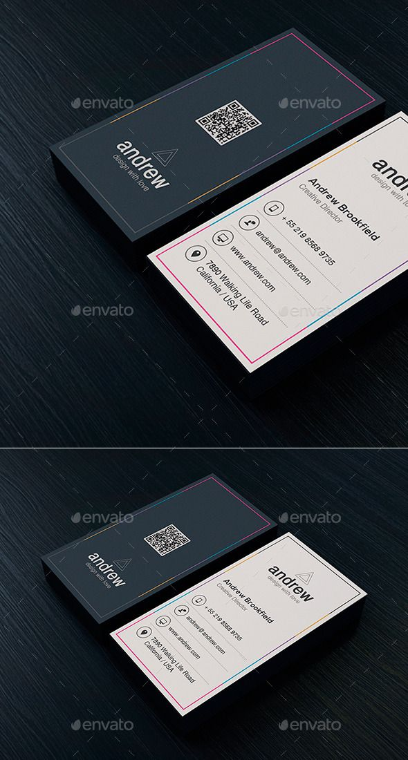 Creative Business Card Template 03 Business Cards Creative Templates Business Cards Creative Artist Business Cards Design