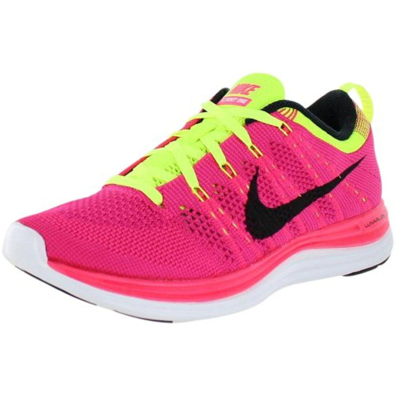 Nike Women'S Nike Flyknit One Pink / Yellow / Black 554888-606Size9