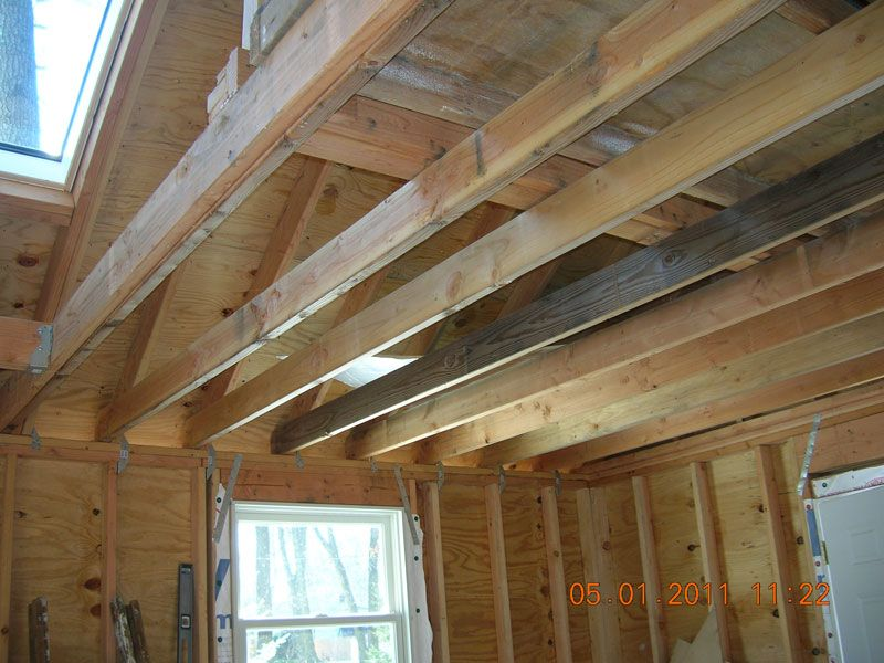 Can 2x6s Hold Up To Heavy Lumber 2x6 Celing Joists Can Do