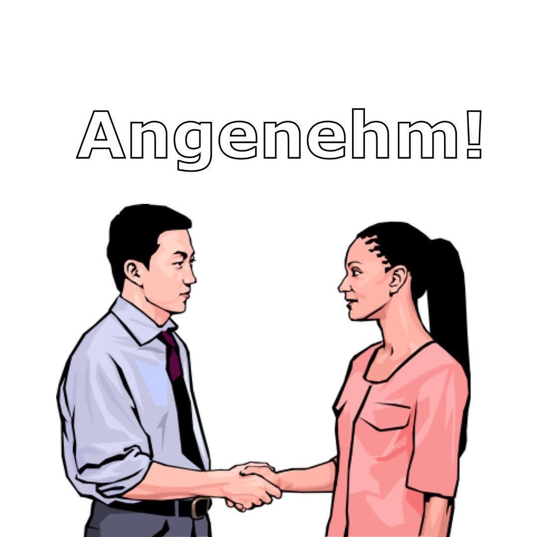 Pleased to meet you in german