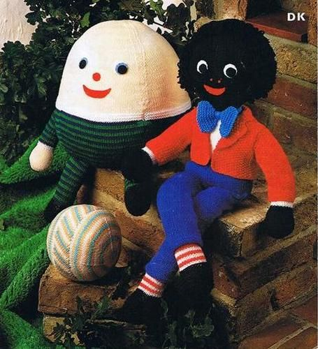 Vintage Knitting Patternshumpty Dumptygolly And Ball Toysdk