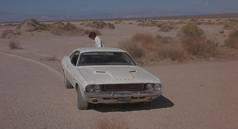 1970 Dodge Challenger R/T In The 1971 Classic, Vanishing Point.