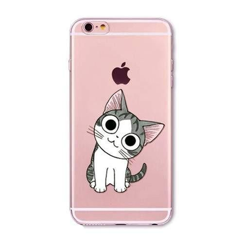 Cute Cartoon Kitten iPhone Case