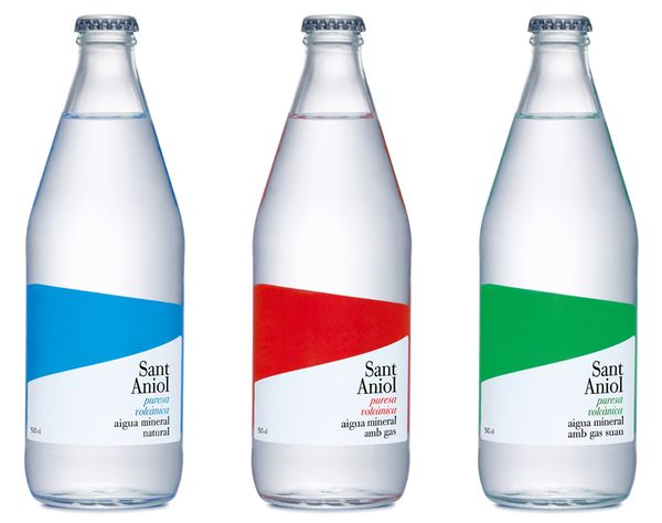 mineral water - packaging design