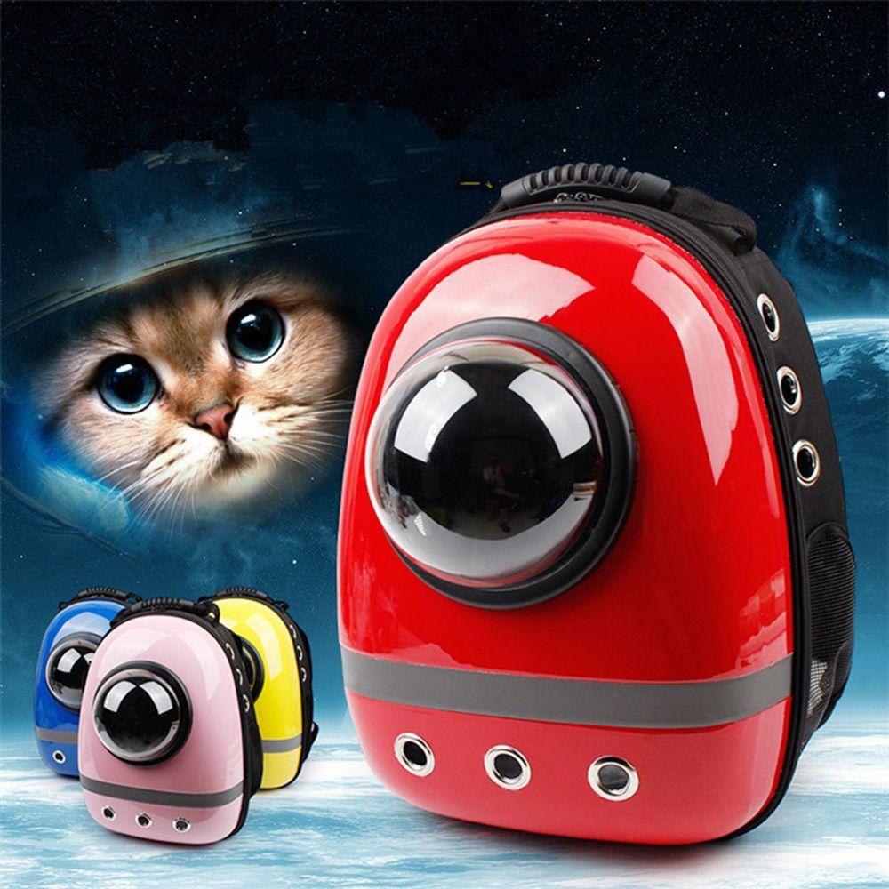 Pet Travel Bag Carrier Backpack Space Capsule Shaped Carrier Pet Dog Cat Front Bags Breathable Outside Bag Backpack PT0137