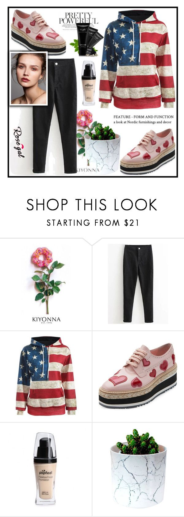 """Rosegal fashion"" by erina-salkic ❤ liked on Polyvore featuring Kiyonna, Prada, fashionset, freeshipping and rosegal"