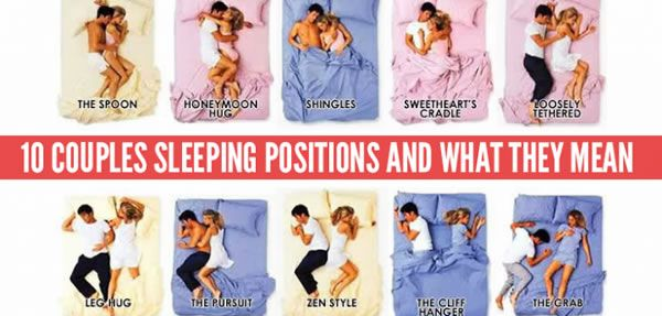 Which positions do your couple like? Here are ten couple