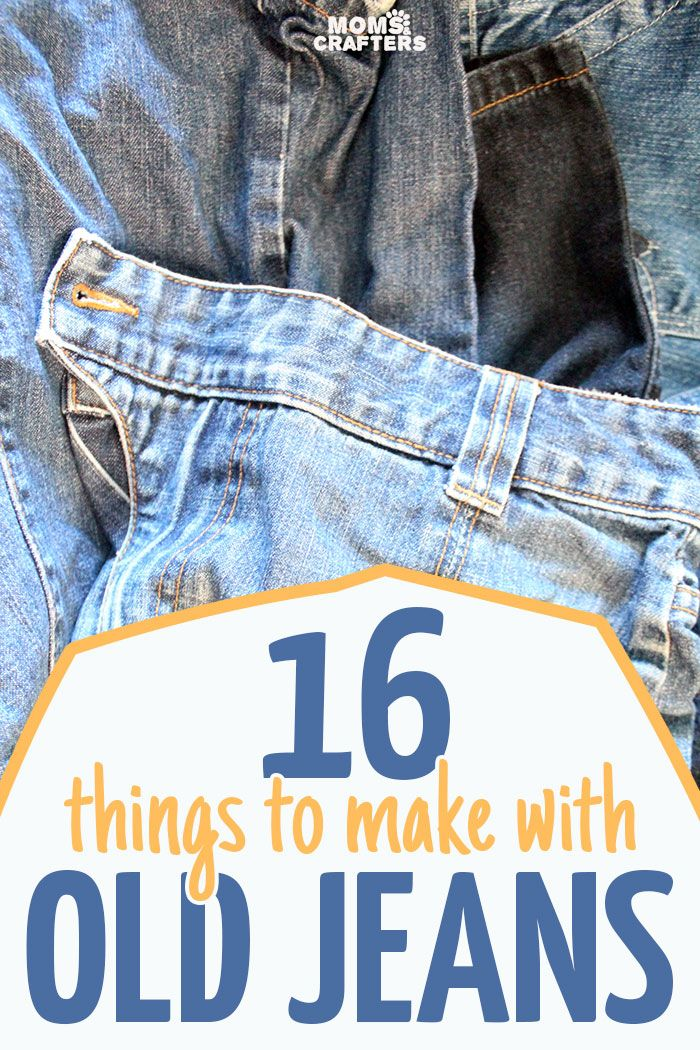 16 of the best recycled denim crafts 16 recycled denim crafts and super easy - Diy ideas repurposing old clothing ...