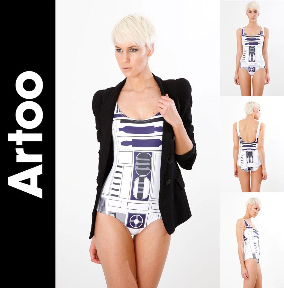 dfad032112034 Star wars swimsuits swimwear for ultimate geek girls star wars jpg 988x1000  R2 d2 swimsuit