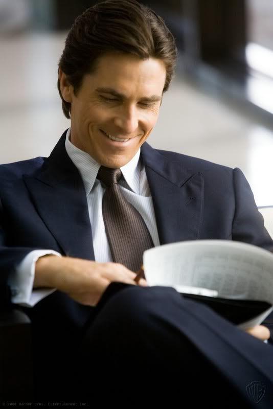 Christian Bale, así mi imagino a Christian Grey