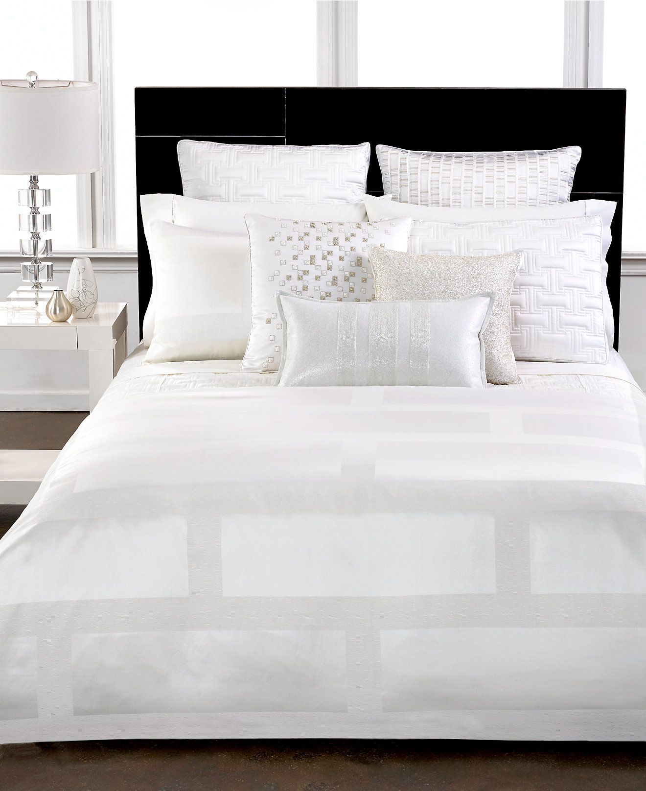 Hotel Collection Frame White Bedding Collection Bedding