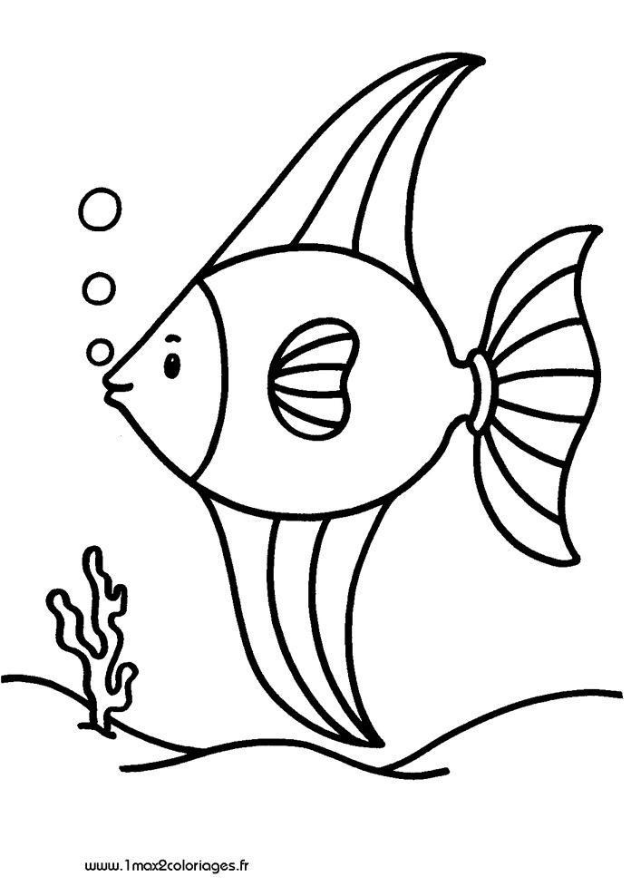 Banderole coloriage poisson d 39 avril - Dessin banderole ...
