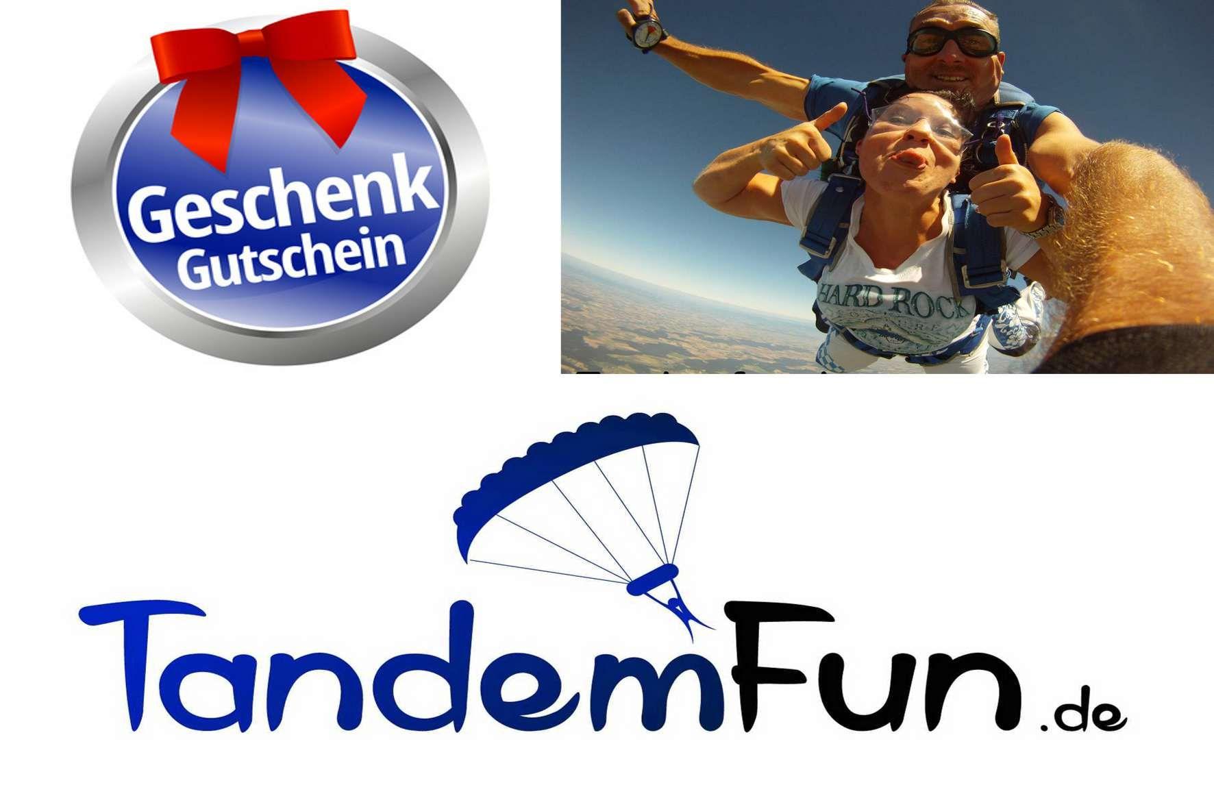 Fallschirmspringen Tandemsprung Geschenk Gutschein Einen Fallschirmsprung in Klatovy Tschechien erlebst Du mit Edi Engl von