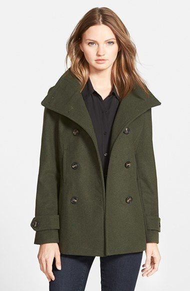 Thread & Supply Double Breasted Peacoat (Juniors)