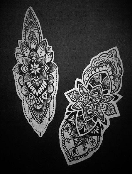 The Ink Society Mandala Tattoo Elbow Tattoos Mandela Tattoo