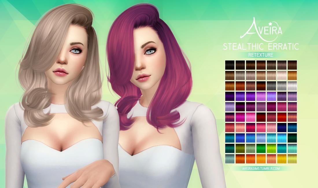 Aveira's Sims 4, Stealthic Erratic - Retexture 70 Colors