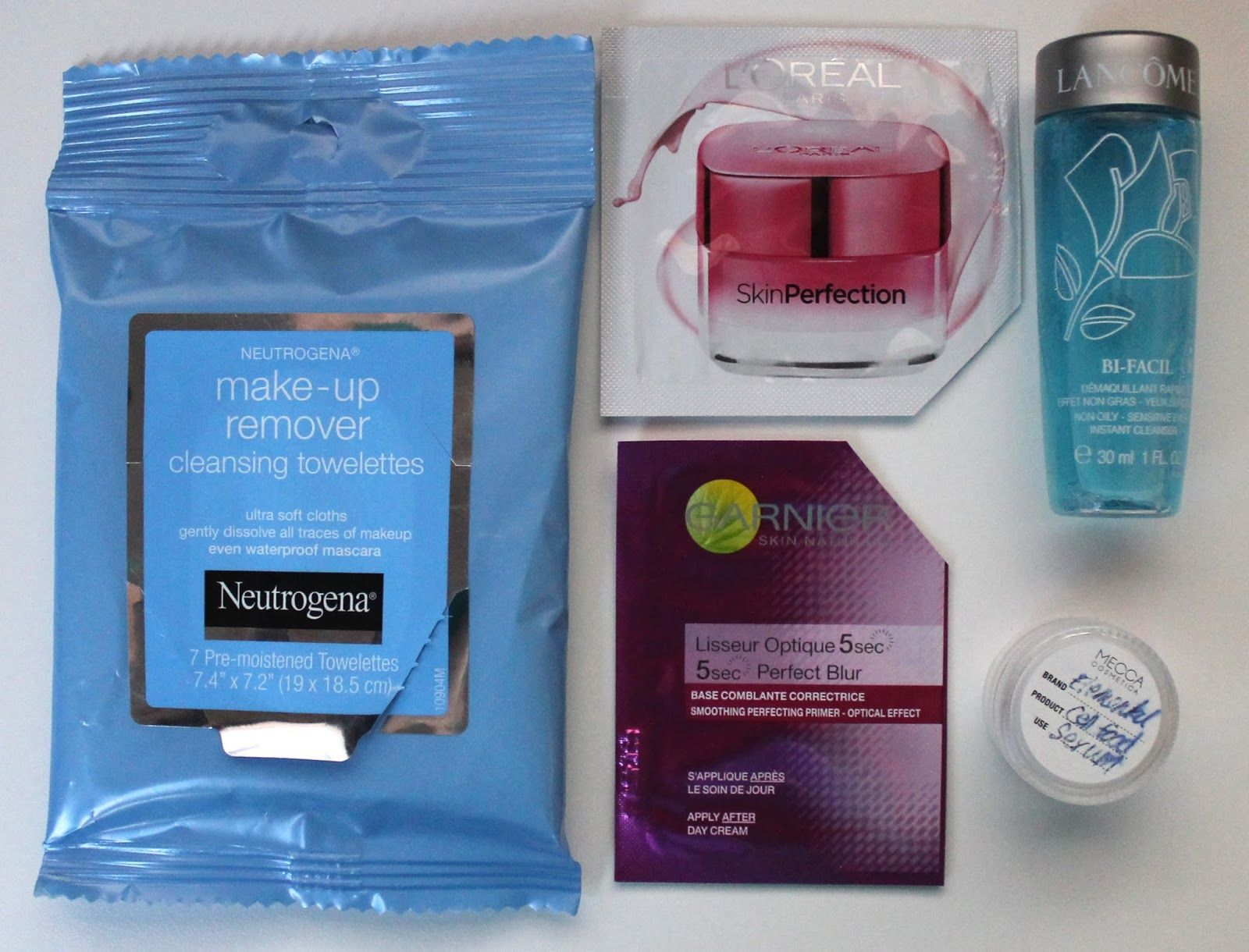 Rosy Disposition: Review: Skincare Sample-palooza