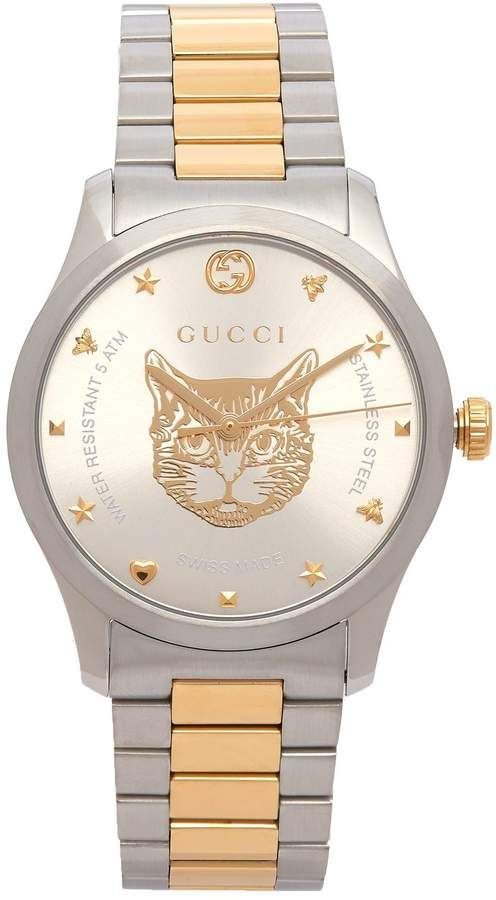 1bbd2355720 Gucci G-Timeless tiger face watch