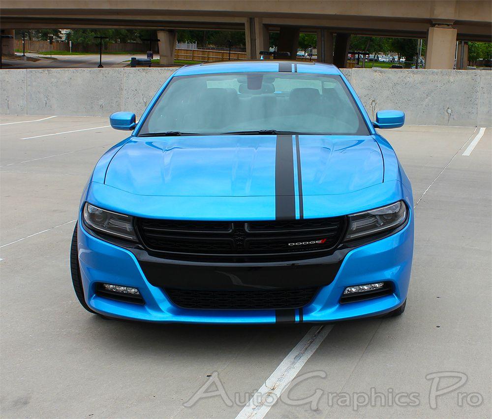 2015 2020 Dodge Charger Hood Stripes E Rally Mopar Decals