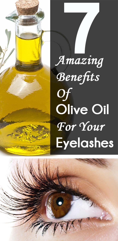 6 Amazing Benefits Of Using Olive Oil For Eyelashes in