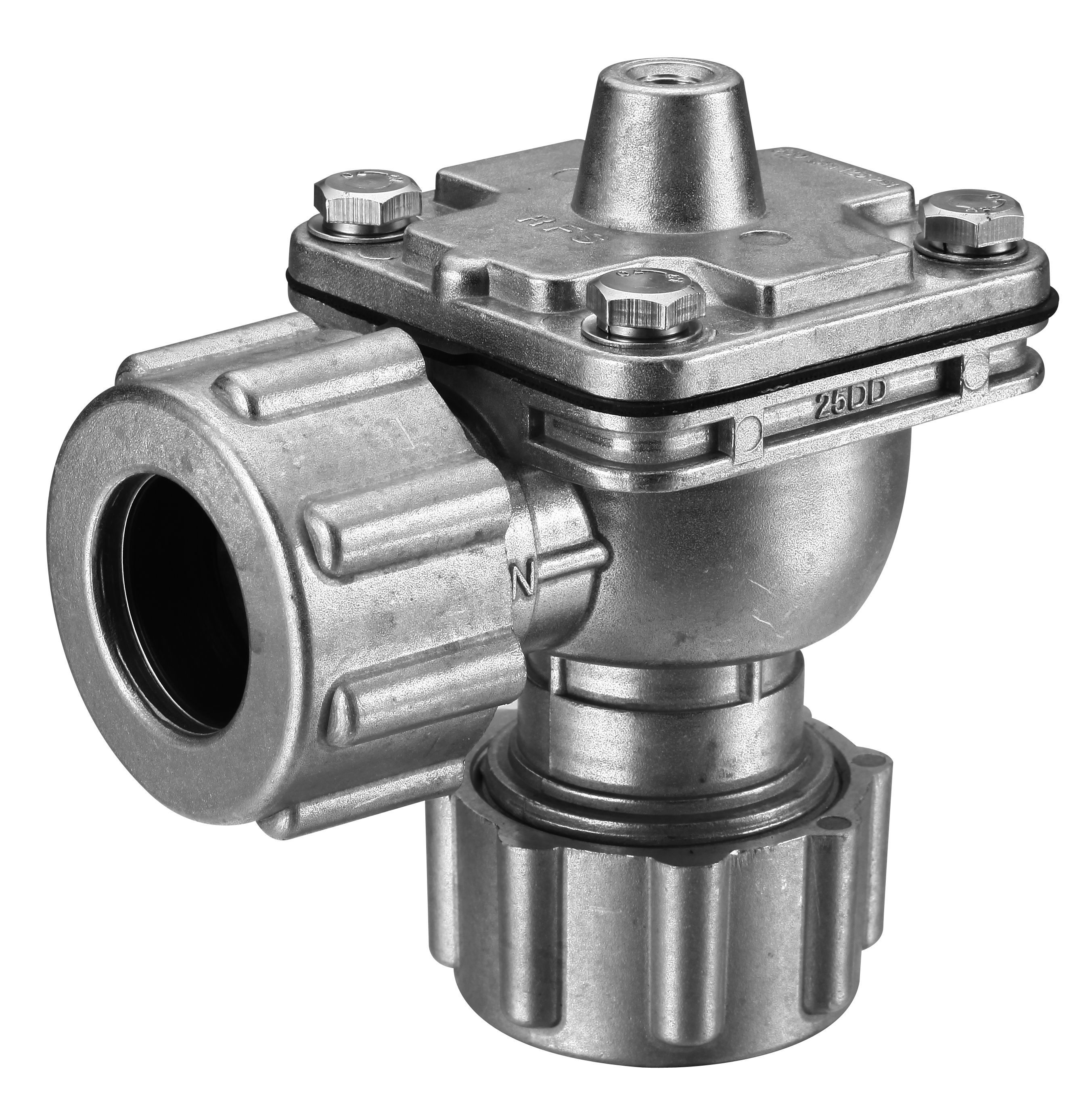 """G1"""" pneumatic pulse valve is easy to install; Air operated"""