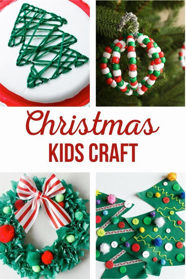 DIY Christmas Kids Crafts Simple kids crafts, DIY Christmas and