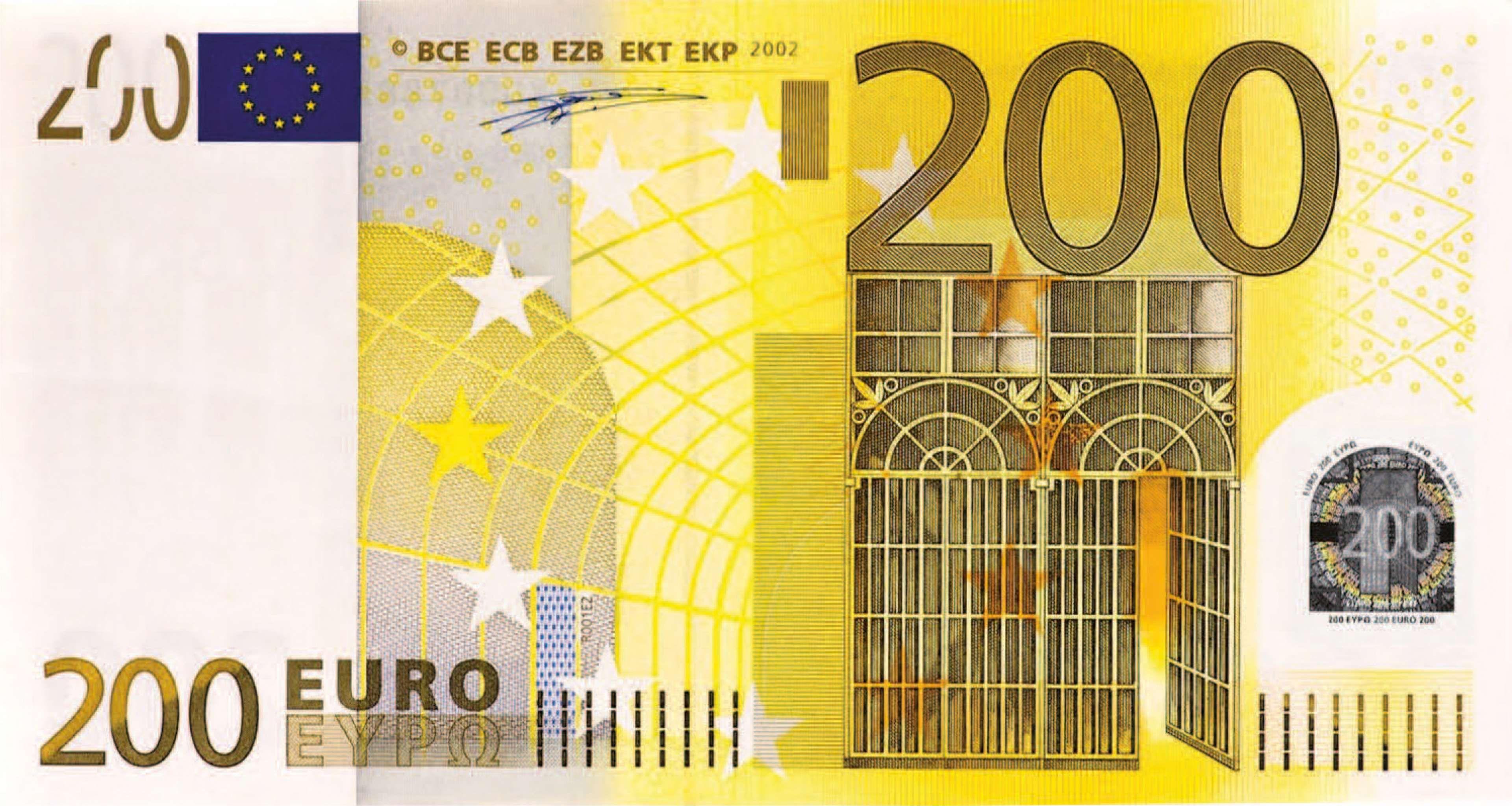 200 Euros Banknote Cash Currency Euro Money 4k Wallpaper Con