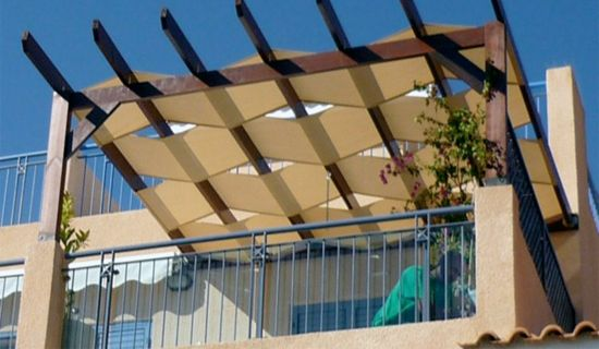 So many options for #pergola coverage - shades, curtains and even  retractable panels. - So Many Options For #pergola Coverage - Shades, Curtains And Even