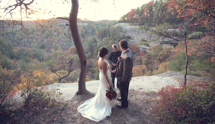 My Tiny Wedding Red River Gorge Kentucky Kentuckywedding Redrivergorge Tiny Wedding Kentucky Wedding Venues Red River Gorge