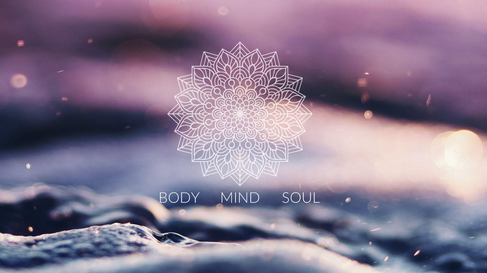 Spiritual Body Mind Soul Desktop Pc Wallpaper Oboi Dlya Rabochego Stola Oboi Joga