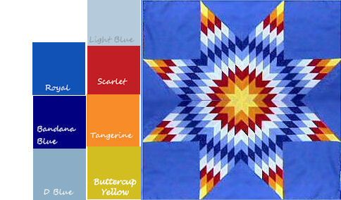 Image Detail For Dianes Native American Star Quilts Designing