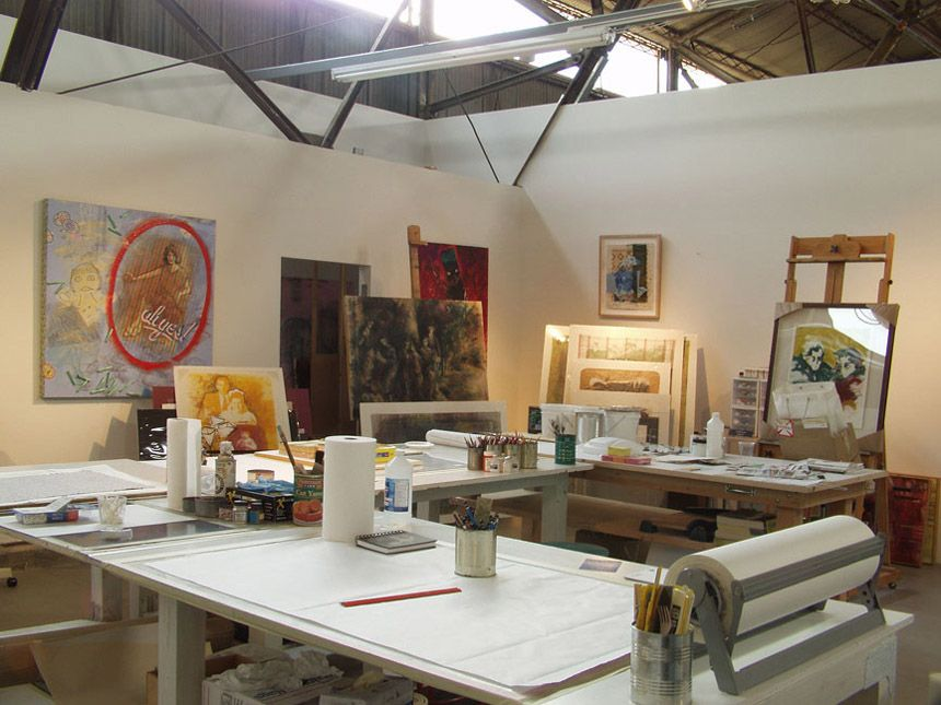Art Studio Design Ideas art studio design ideas for small spaces modern little art and craft home studio design Art Studio Design Ideas Santa Monica Art Studios