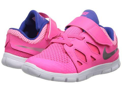 Nike Kids Free 5 (Infant/Toddler) Hyper Pink/Game Royal/Deep