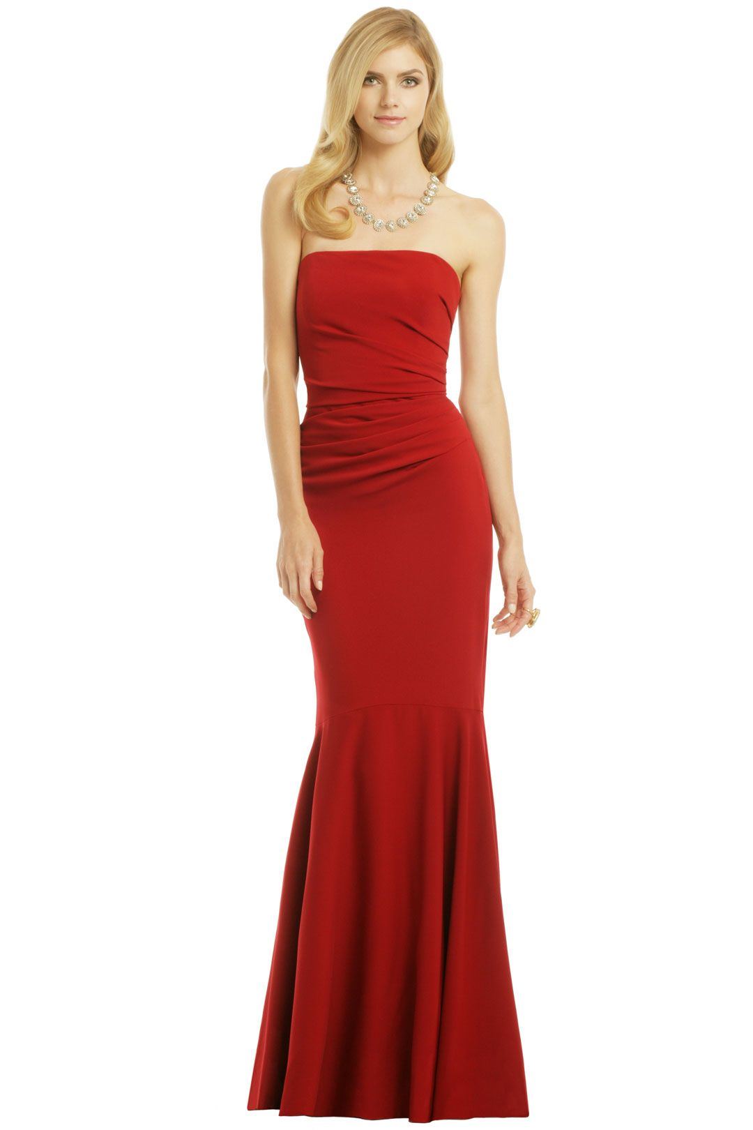 Badgley Mischka Beauty in a Bottle Gown - This is the only red I ...