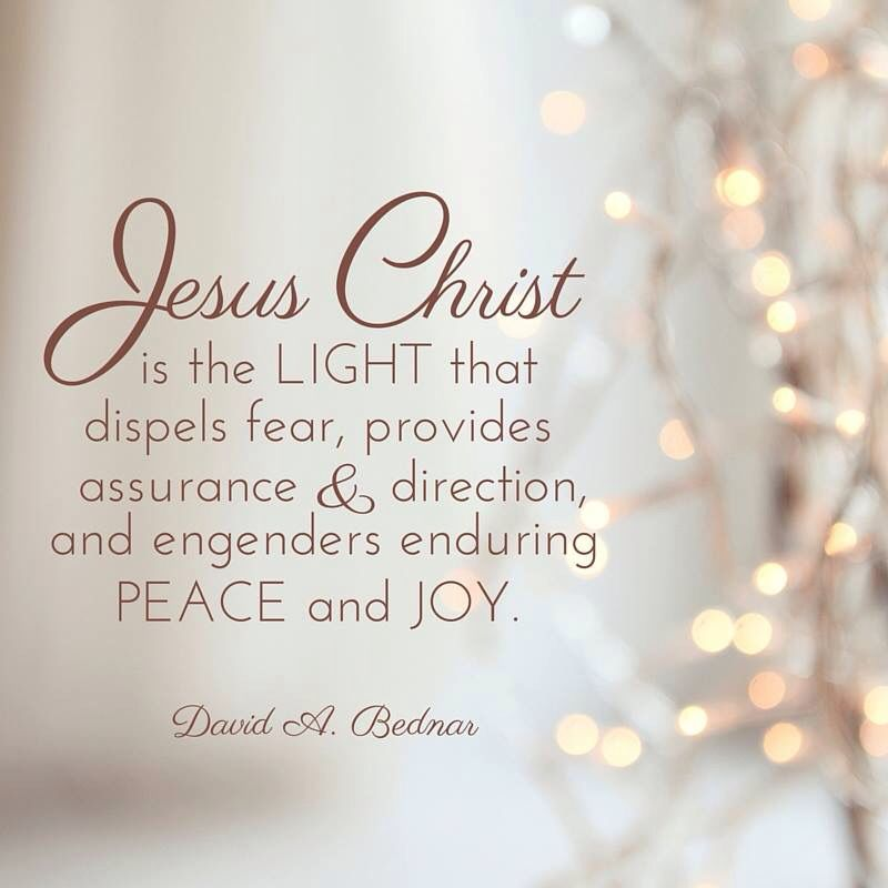 ... Provides Assurance, And Direction, And Engenders Enduring Peace And Joy  U0027A Time For Remembering The Son Of Godu0027: 26 Christmas Quotes From LDS  Leaders