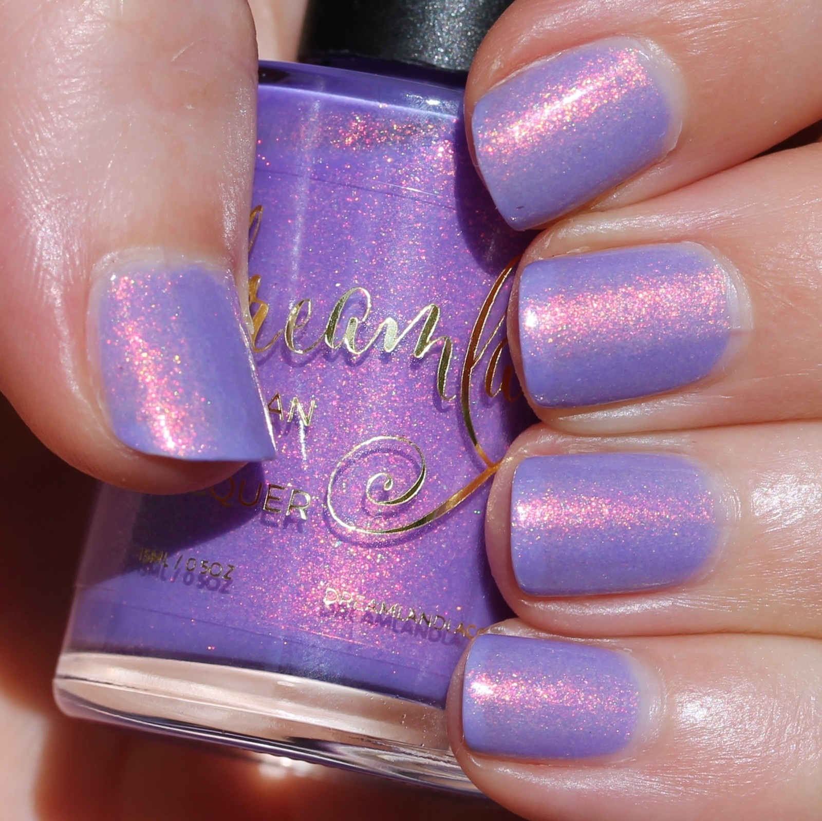 Nail Art Daun: Dreamland Lacquer You've Been Rickrolled!