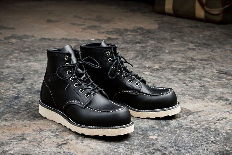 Moc toe boots, Boots, Red wing boots