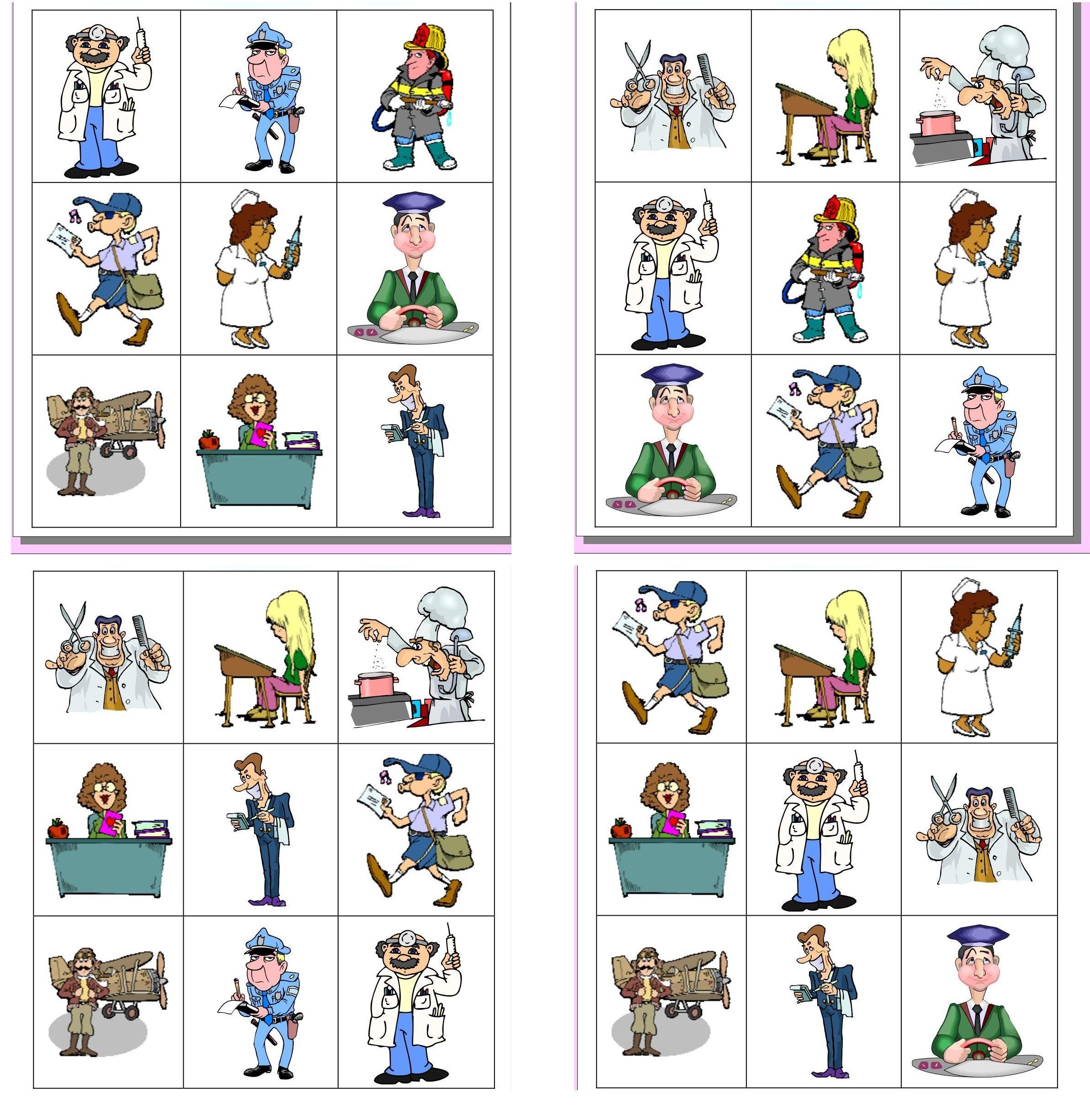 Jobs Bingo