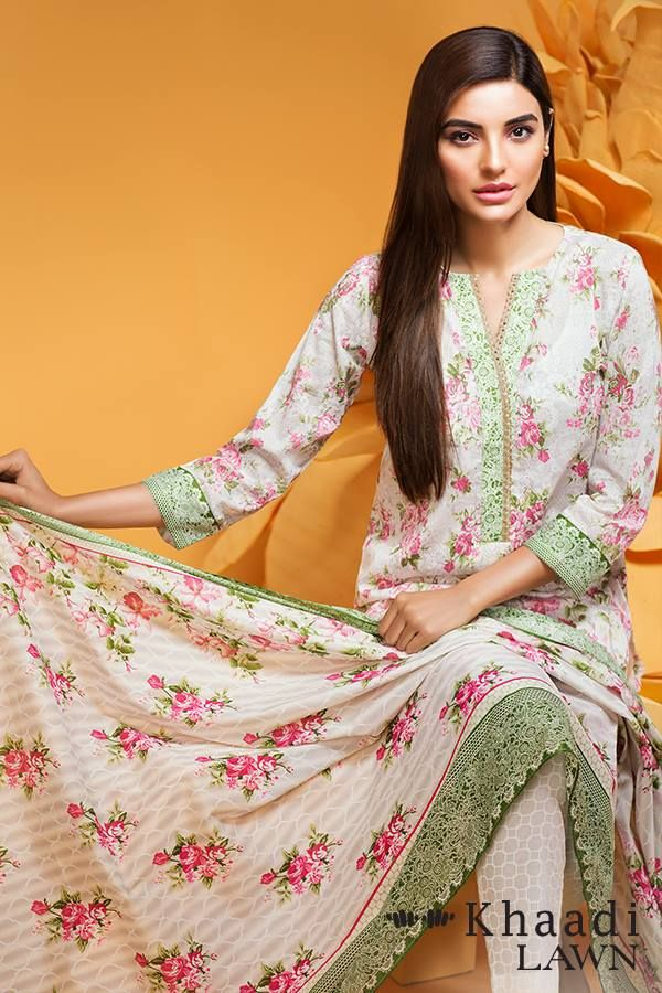 Khaadi Stylish Summer Lawn Dresses Collection 2016-2017 | Designer ...