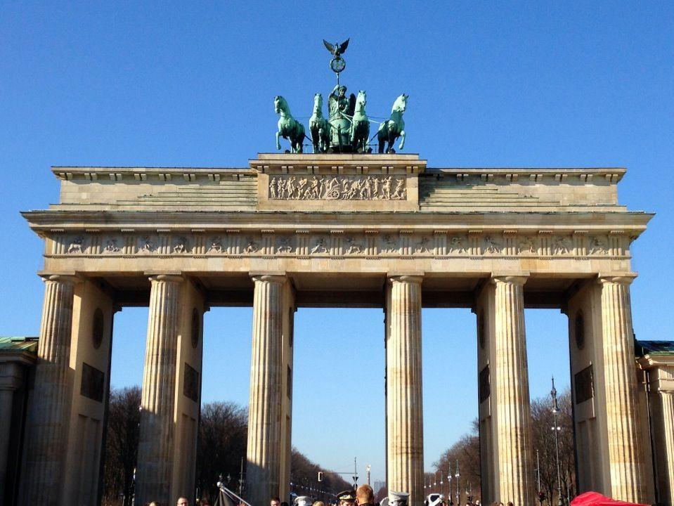 Puerta De Branderburgo Brandenburg Gate Brandenburg Gate
