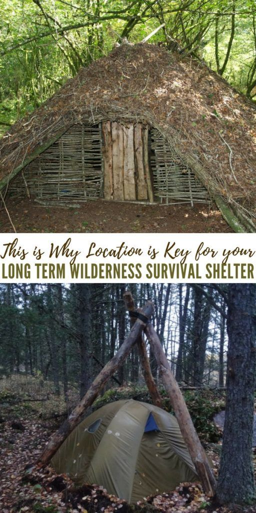This is Why Location is Key for your Long Term Wilderness Survival Shelter
