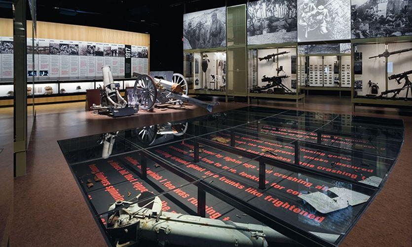 Floor Showcase National World War I Museum Liberty Memorial Association Ralph Appelbaum Associates