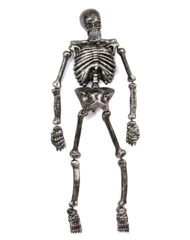 5\u0027 Metallic Skeleton - just need to add a red eye and have it say