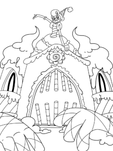Cuphead Coloring Pages Dibujos