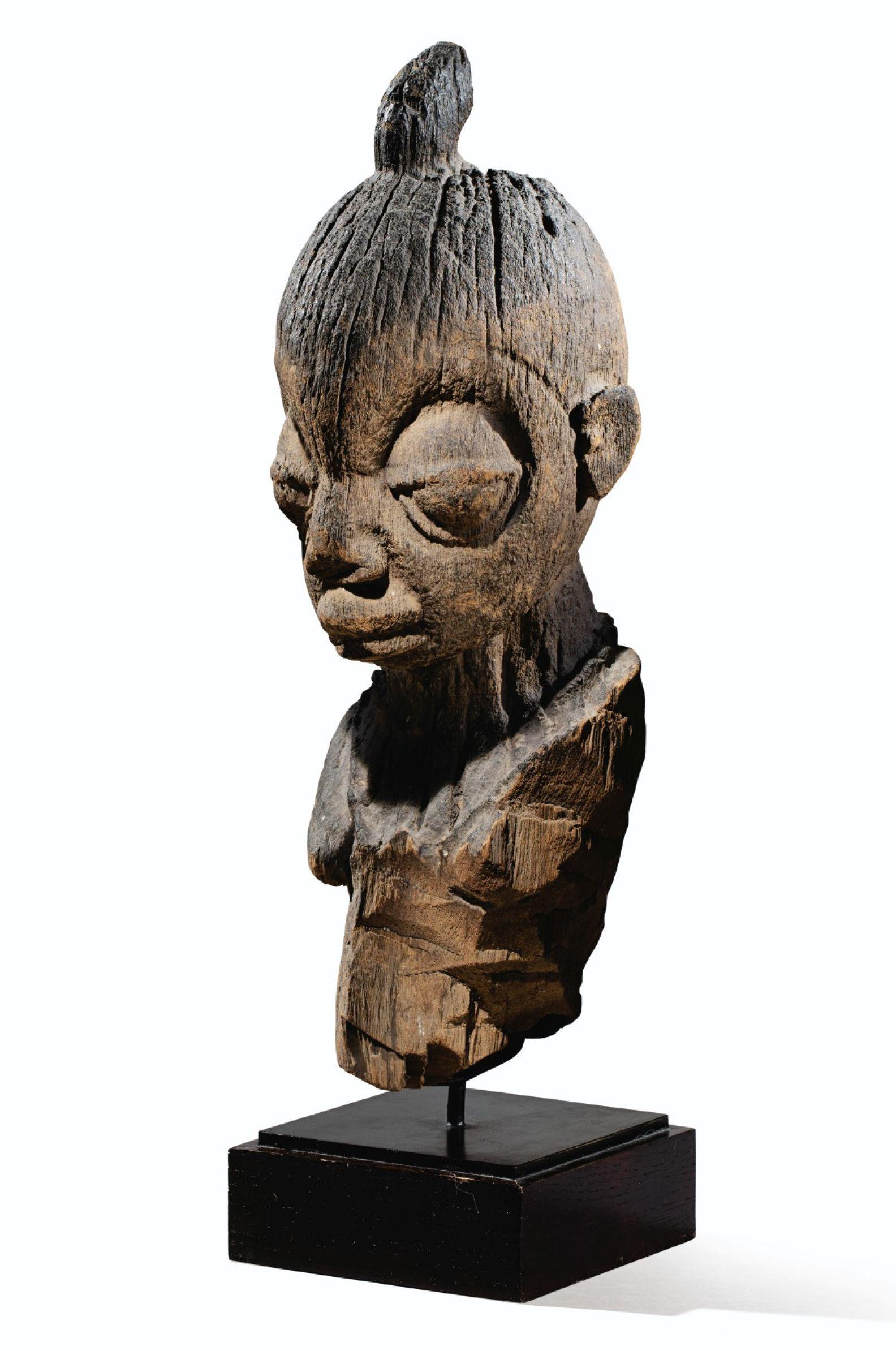 Sculpture: Secret Woman 11 (Peaceful Gentle Abstract Nude